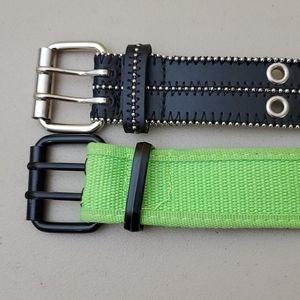 Bundle of 2 belts, Size S